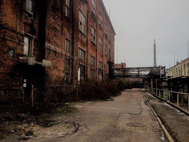Заброшенный Приднепровский химический завод