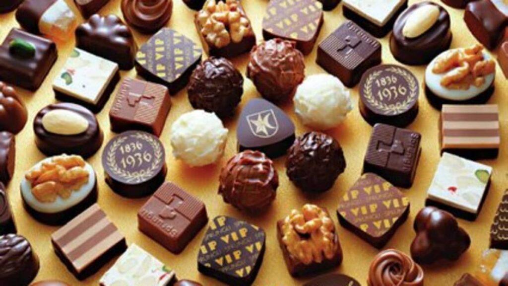Швейцария потребляет больше всего шоколада в год: около 10 кг на человека