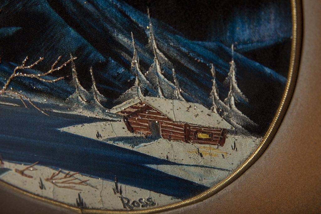 Прежде чем Боб Росс стал рисовать картины, он разрисовывал миски