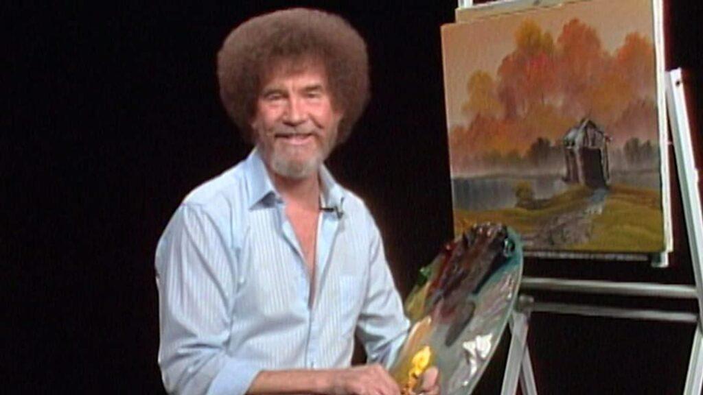 Не так много людей рисовали с Бобом Россом