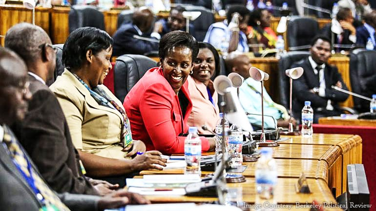 Руанда имеет самый высокий процент женщин в парламенте