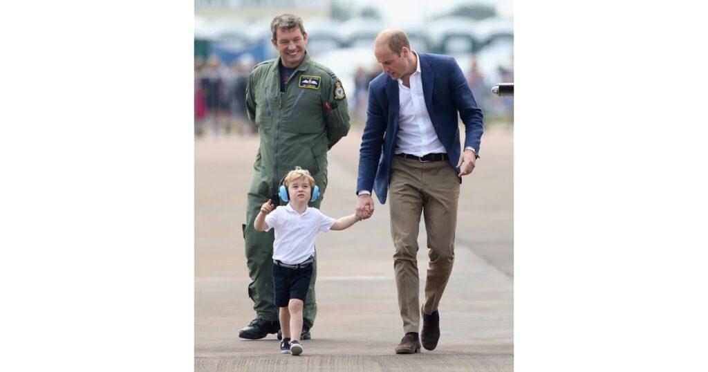 Принц Уильям на рейсе авиакомпании Ryanair