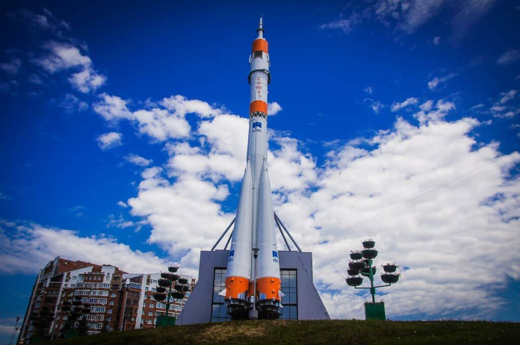 "Монумент ракета-носитель""Союз"", Самара"