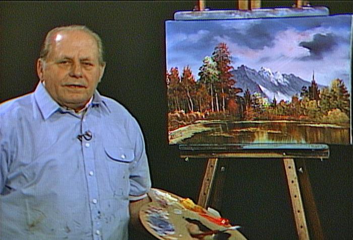 Боб Росс черпал вдохновение в творчестве Билла Александра