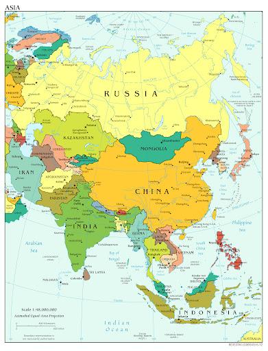 И Китай, и Россия граничат с 14 странами