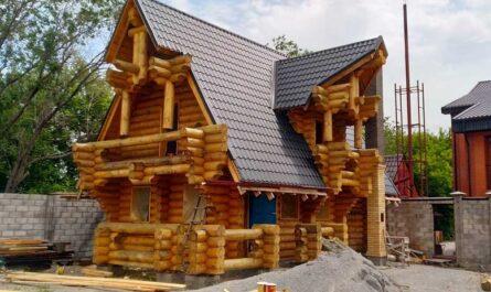 У кого заказать строительство дома из сруба в Казахстане?