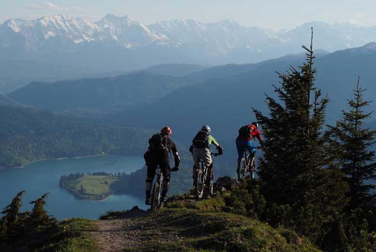9 маршрутов для катания на горных велосипедах